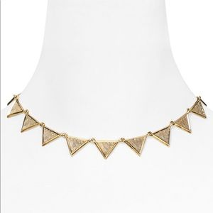 House of Harlow Triangle Collar Necklace